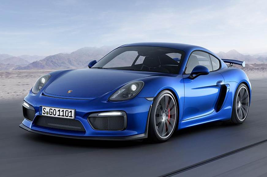 The previous Cayman GT4.