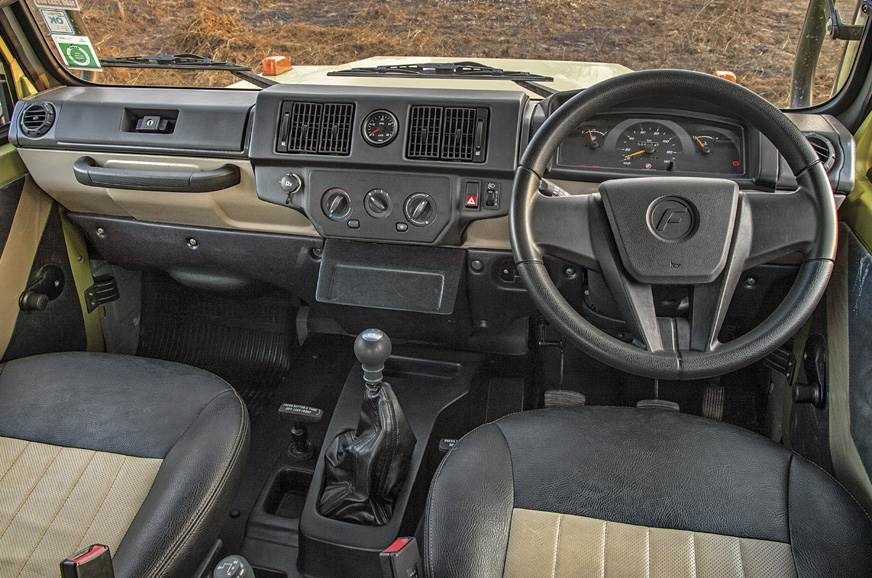 The Gurkha's dash is disappointing and seems to be from t...