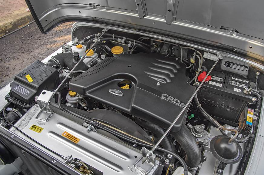 Thar's strength is the strong 107hp CRDe engine. Its Achi...