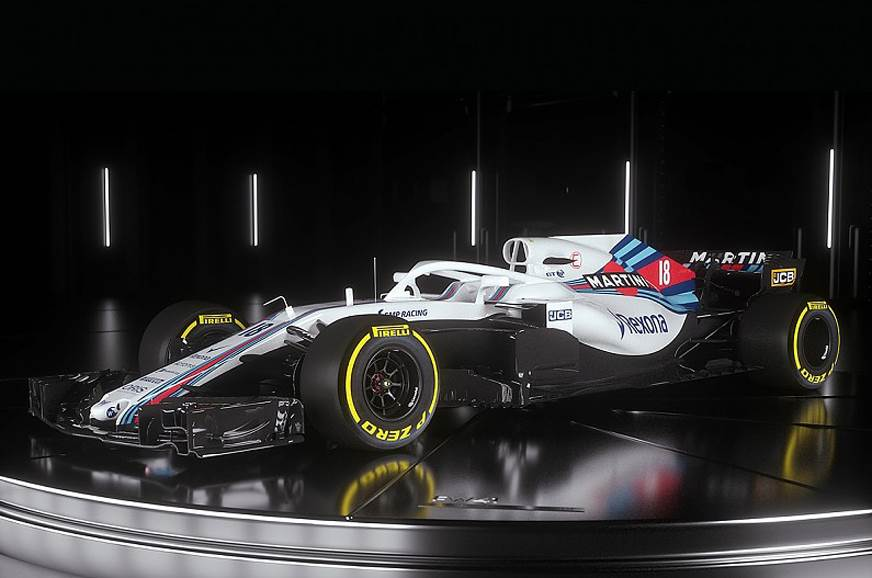 Williams takes wraps off 2018 F1 car