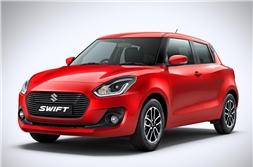 2018 Maruti Suzuki Swift accessories listed