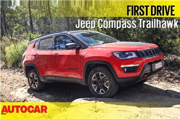 2018 Jeep Compass Trailhawk video review