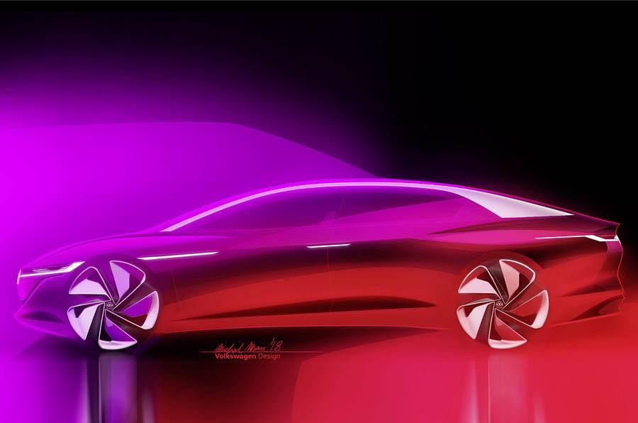 Volkswagen ID Vizzion previews autonomous electric luxury sedan