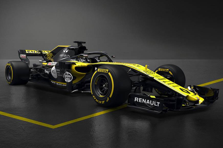 2018 Renault F1 contender breaks cover