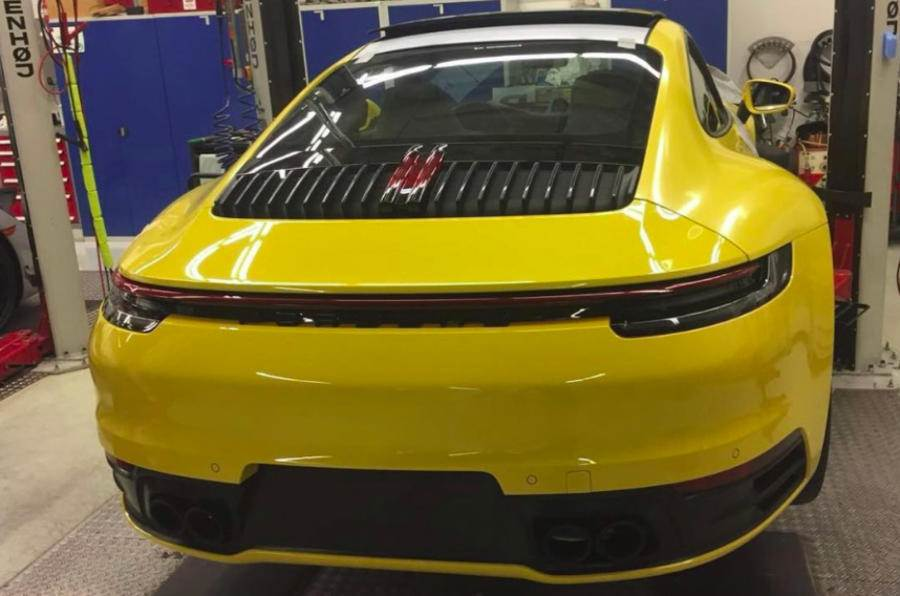 2019 Porsche 911 image leaked before official reveal