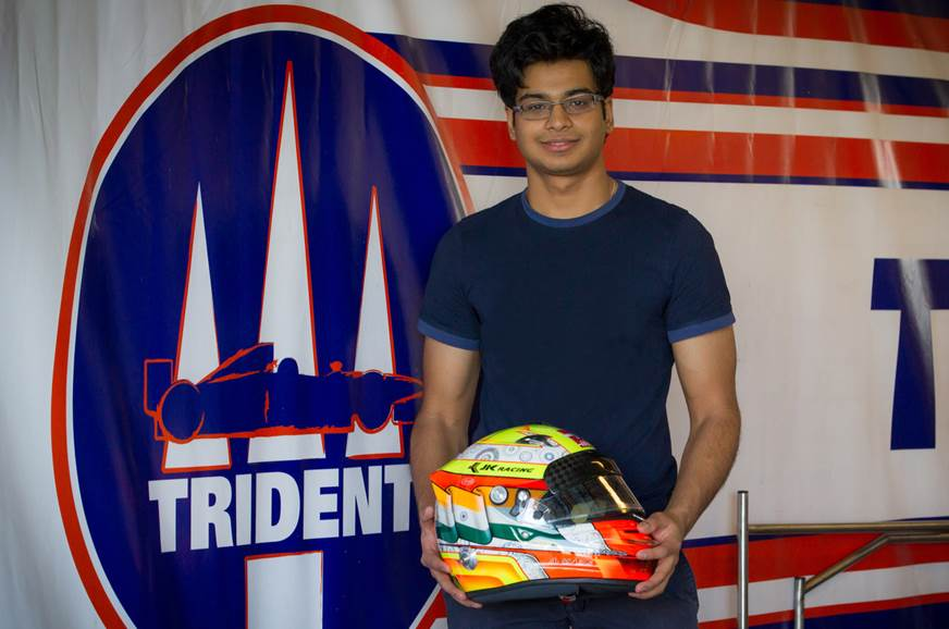 Arjun Maini steps up to F2 with Trident