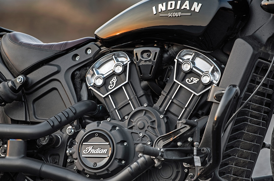 The 1,133cc V-twin is impeccably finished and detailed to...