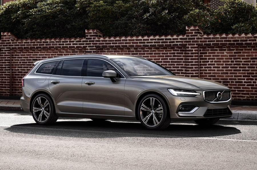 New Volvo V60 estate unveiled before Geneva debut