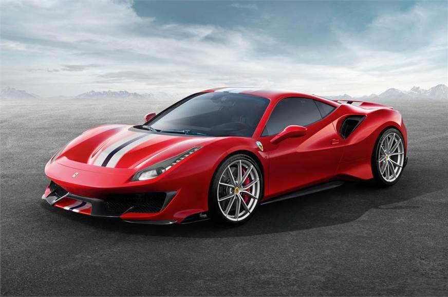 Ferrari 488 Pista revealed with racing-derived V8