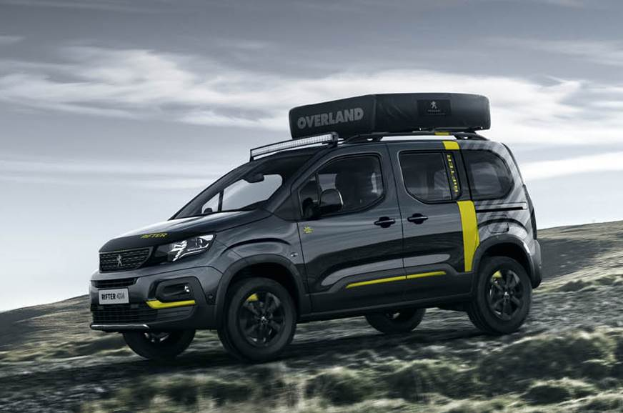 Peugeot Rifter 4x4 van concept to debut at Geneva