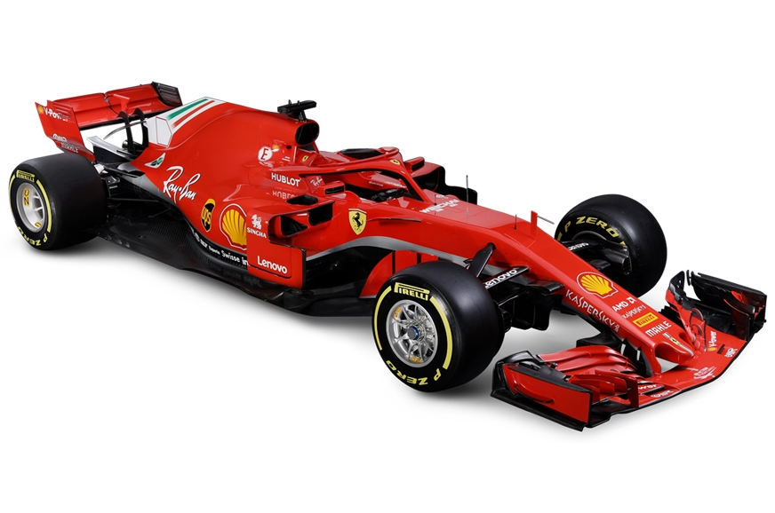 ferrari unveils 2018 f1 challenger autocar india. Black Bedroom Furniture Sets. Home Design Ideas