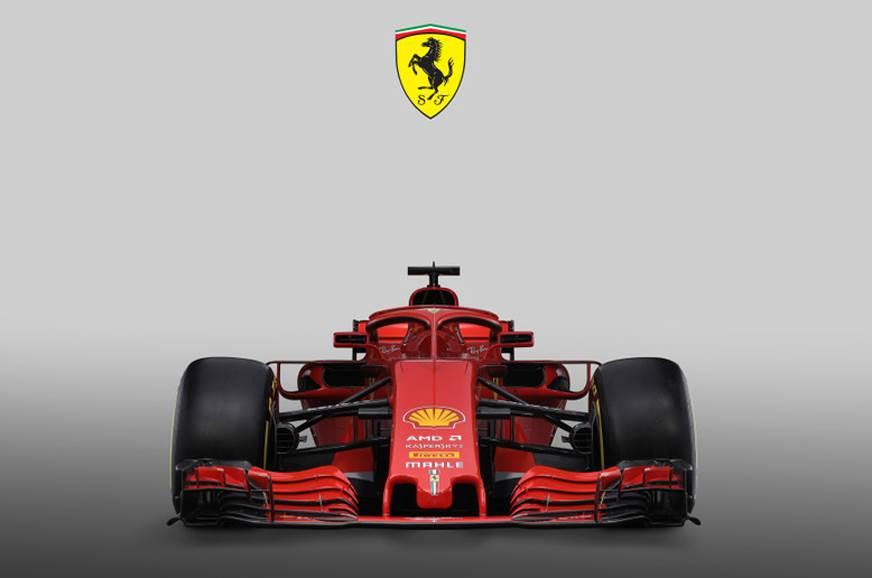 Ferrari unveils 2018 F1 challenger
