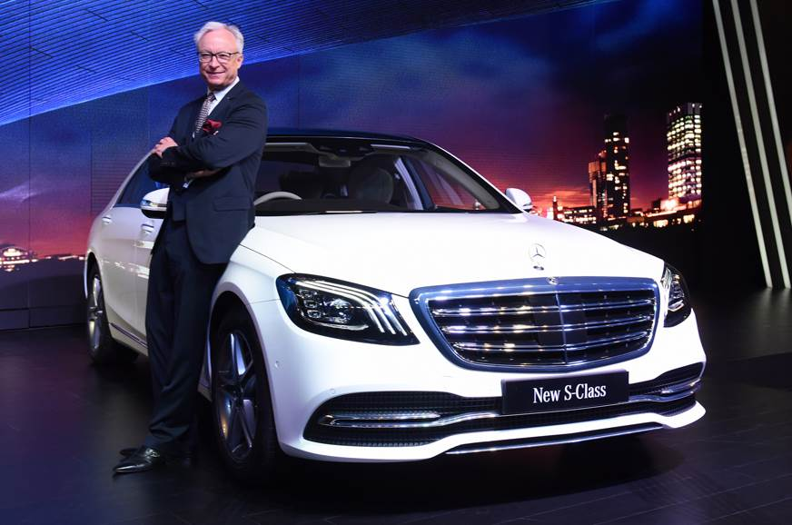 2018 Mercedes S-class facelift launched at Rs 1.33 crore