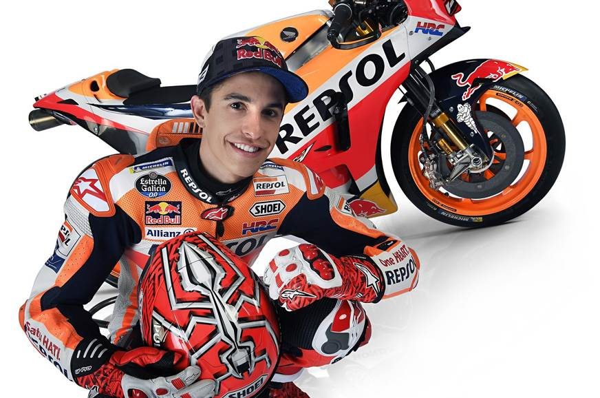 Marquez signs Honda MotoGP contract extension