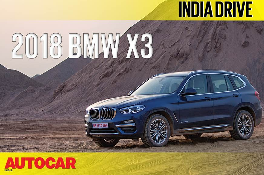 2018 BMW X3 India video review