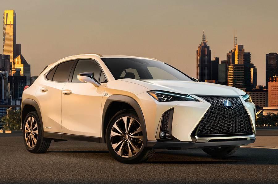Lexus UX crossover revealed
