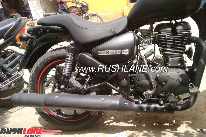 2018 Royal Enfield Thunderbird 350X, 500X brochure leaked and spy images spotted - Autocar India