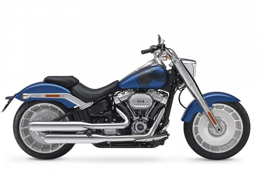 The Harley-Davidson Fat Boy 114 has been priced at Rs 19....