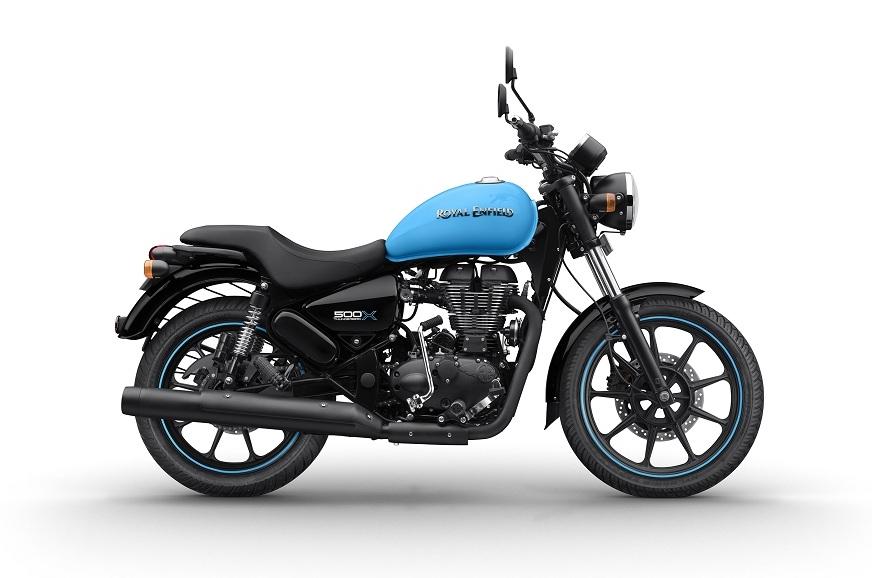 Thunderbird 500X in Drifter Blue
