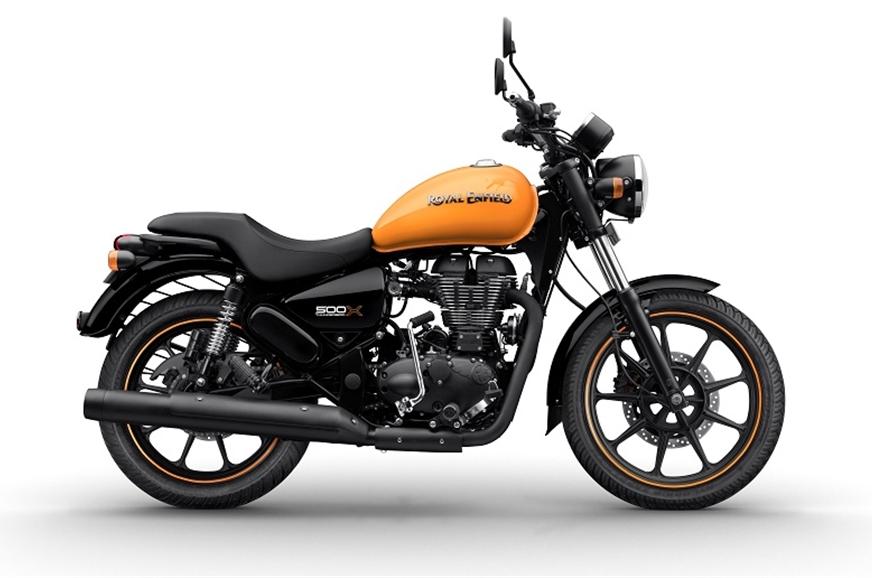 Thunderbird 500X in Getaway Orange