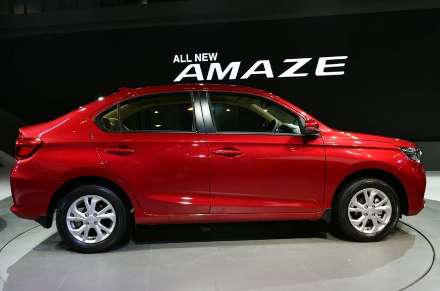 There's a greater balance to the new Amaze's silhouette.