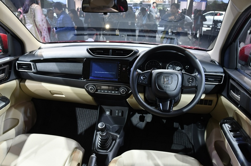 Dashboard is new and cabin quality sees an improvement.