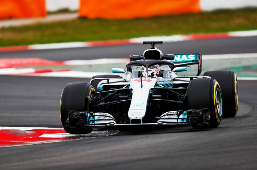 2018 F1: Hamilton sets pace on final day of first pre-testing