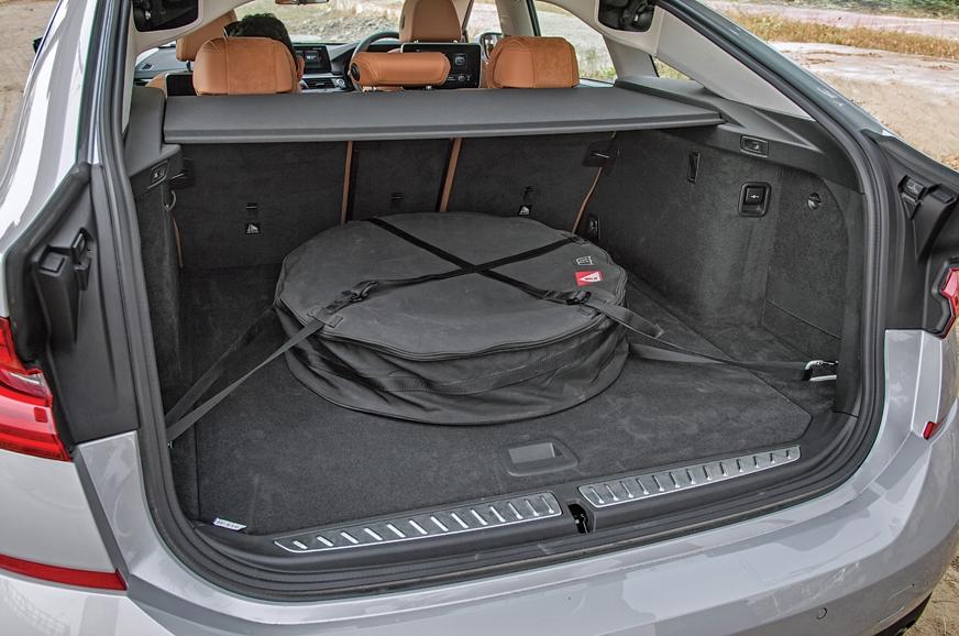 Liftback liberates a truly impressive 610 litres, but spa...