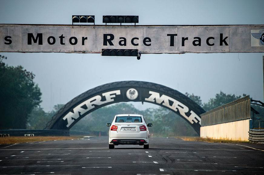 Oh yeah! We wrangled a few flat-out laps at the Madras Mo...