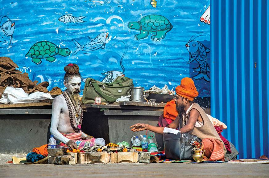 What's a story about Varanasi without the mandatory pictu...