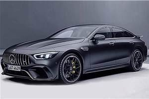 Mercedes-AMG GT four-door coupe leaked