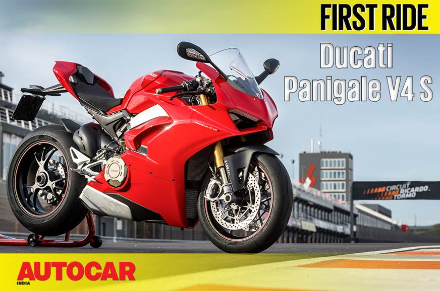 2018 Ducati Panigale V4 S video review
