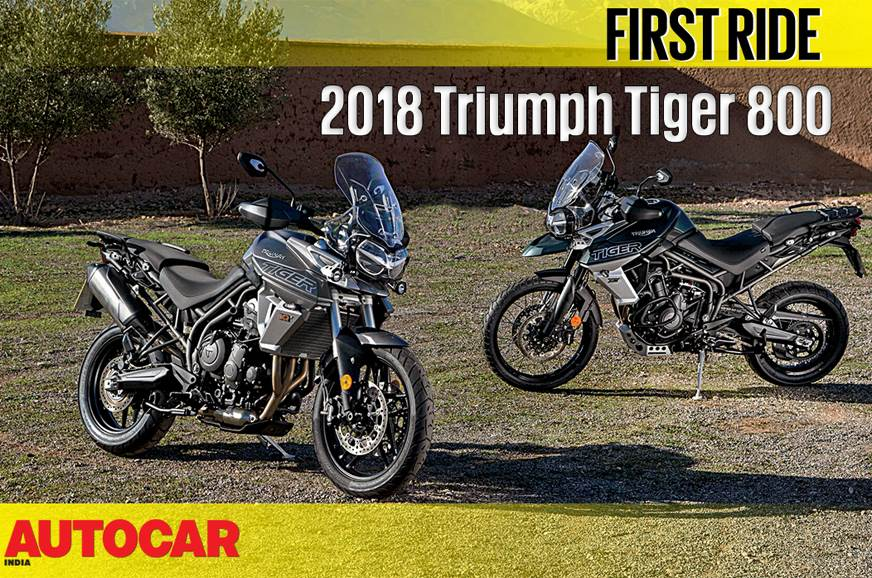 2018 Triumph Tiger 800 video review