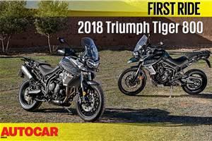 2018 Triumph Tiger 800 video review