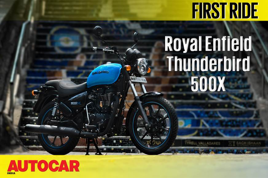 2018 Royal Enfield Thunderbird 500X video review