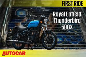 2018 Royal Enfield Thunderbird 500X video review