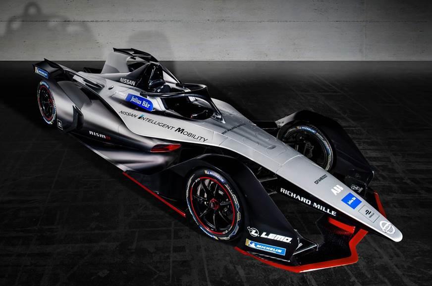 Nissan reveals Formula E livery concept