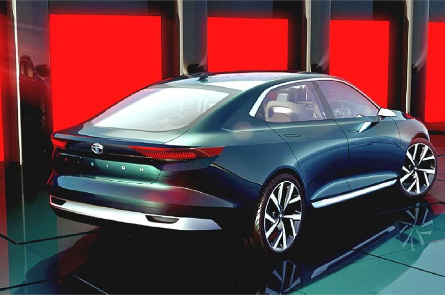 Tata evision sedan concept unveiled at geneva motor show for Tata motors future cars