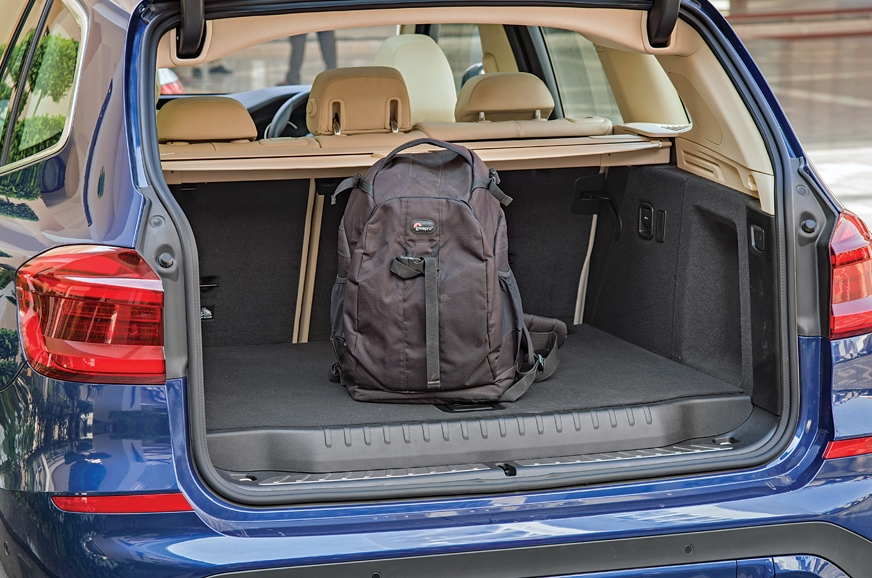Boot space is 550L. Step in boot floor is for spare wheel.