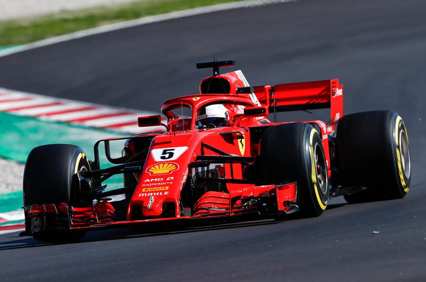 2018 F1 test two: Vettel fastest, as McLaren suffers