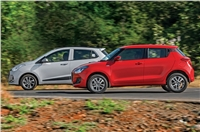 2018 Maruti Swift vs Hyundai Grand i10 comparison