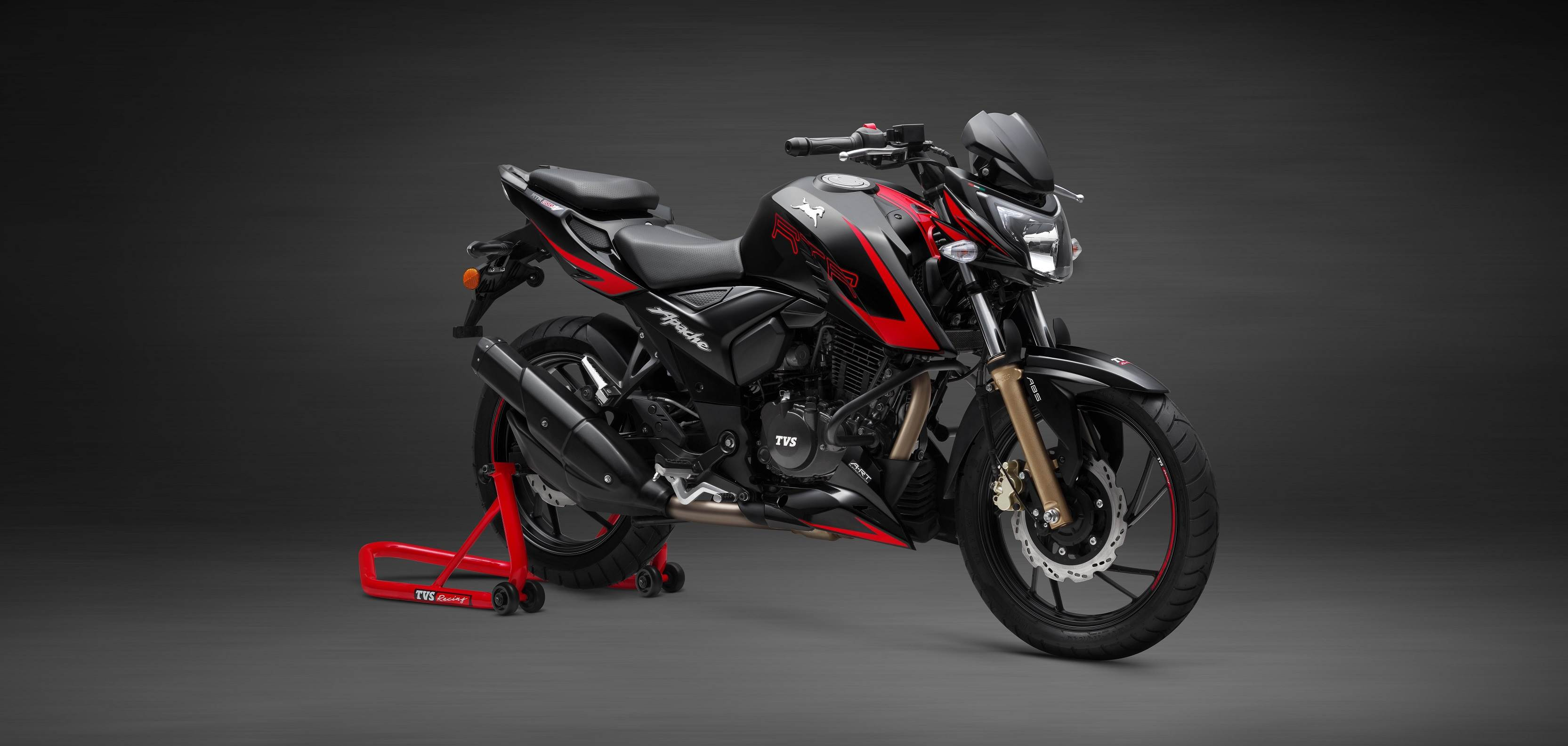 Tvs Apache Rtr 200 4v Race Edition 2 0 Launched At Rs
