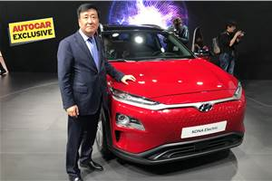 Hyundai Kona Electric India launch in 2019