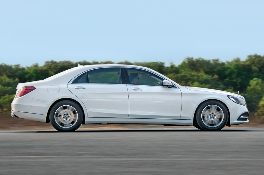S-class feels solid, stable and composed on any road.