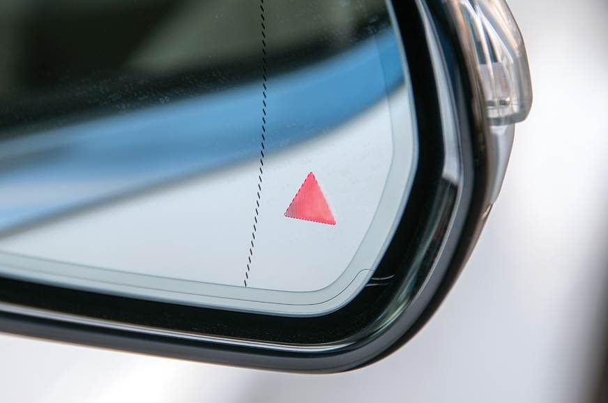 Blind spot warning can be a life saver.