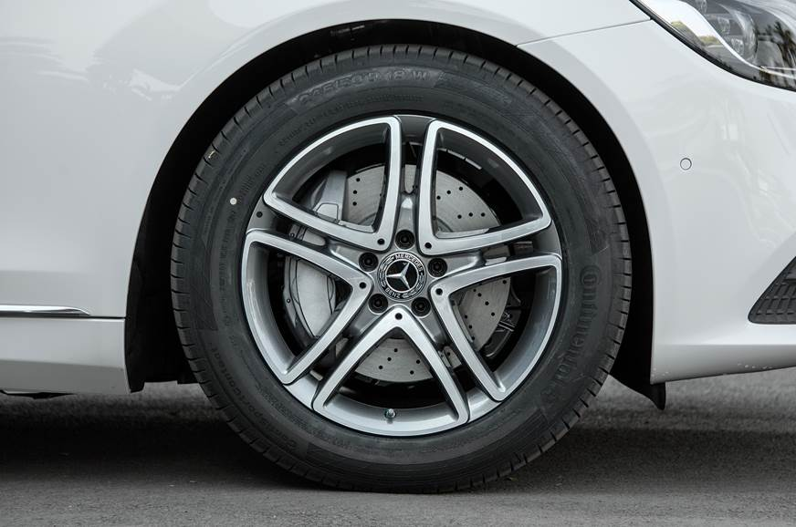 18-inch alloys new but look ordinary.