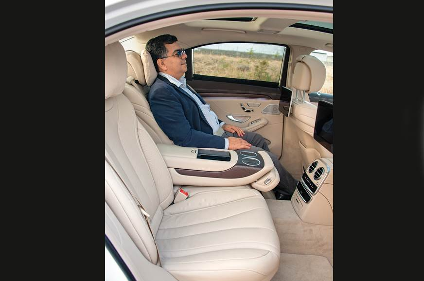 Back seat offers unparalleled comfort and a soothing expe...