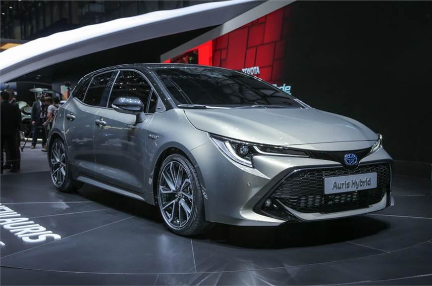 The new Auris has been unveiled at Geneva.