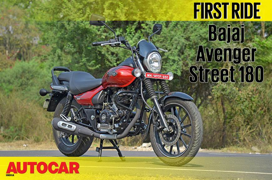2018 Bajaj Avenger Street 180 video review