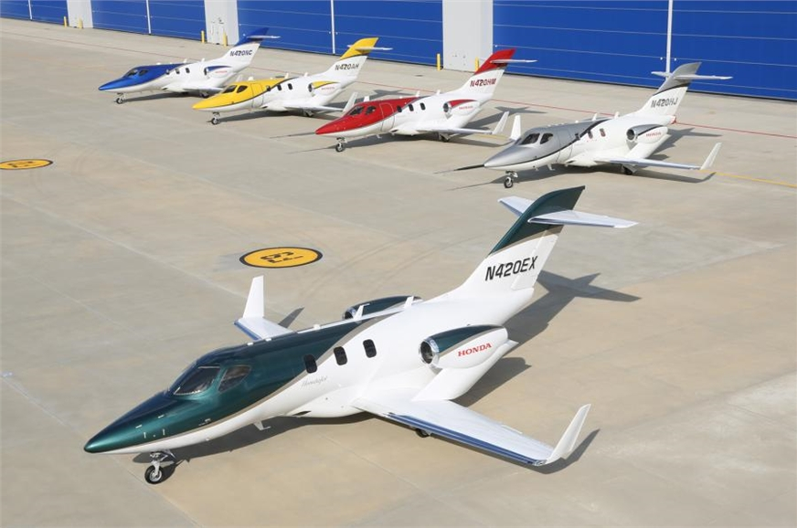 Honda says the jet is 20 per cent more fuel efficient tha...